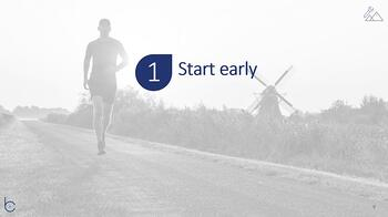 Start early with your transformation journey